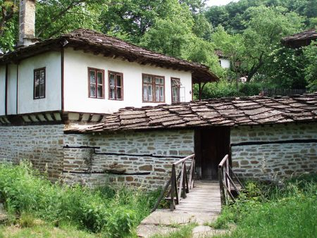 mn: Bulgaria-old village Bozentzi in Stara planina mn.,