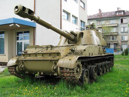 propelled: Self propelled howitzer 2-S-3 Akatzia