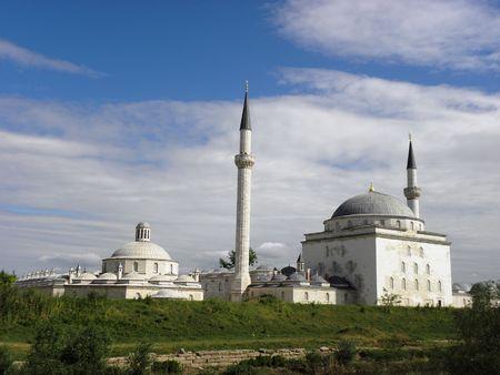 edirne: Bayezid 2 complex of 15 century in Edirne.