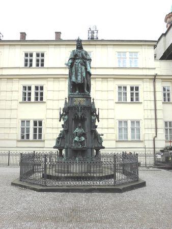 karl: Monument of Karl IV in Prague.