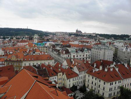 researches: Ricerche alti nella parte vecchia di Praga. Archivio Fotografico