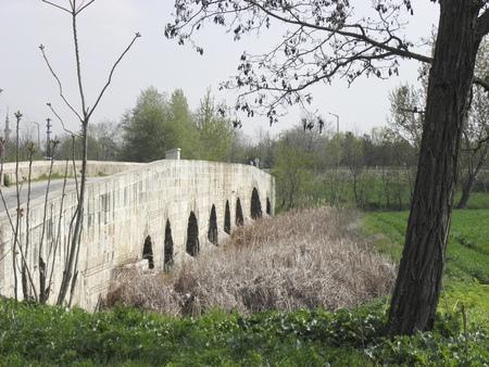 edirne: Perfectly preserved medieval bridge built in 1535 in Edirne