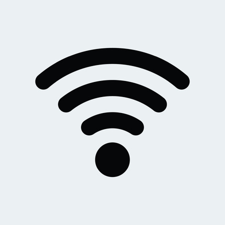 podcasts: wifi icon Illustration