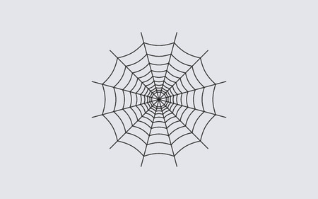 spider web design icon Illustration
