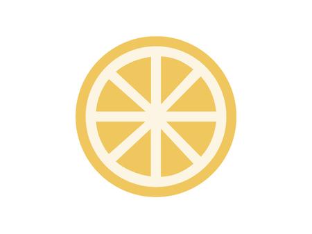 Lemon, lime line icon, outline vector sign, linear style pictogram isolated on white. Symbol, logo illustration. Editable stroke. Pixel perfect Illustration