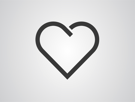 Heart glyph icon, web and mobile, love sign vector graphics, a solid pattern on a white background