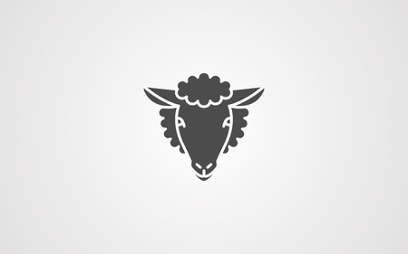 sheep icon in sketch style. Element of sheep for mobile concept and web apps illustration. Sketch icon for website design and development, app development on white background