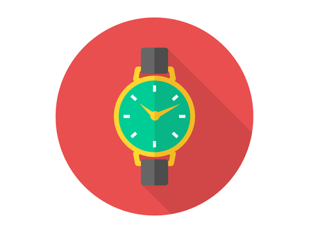 Smart watch with health app icon. Simple element illustration. Smart watch with health app symbol design template. Can be used for web and mobile on white background