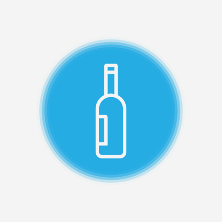 Open window frame icon. Add your own image or text. Vector illustration of an open window