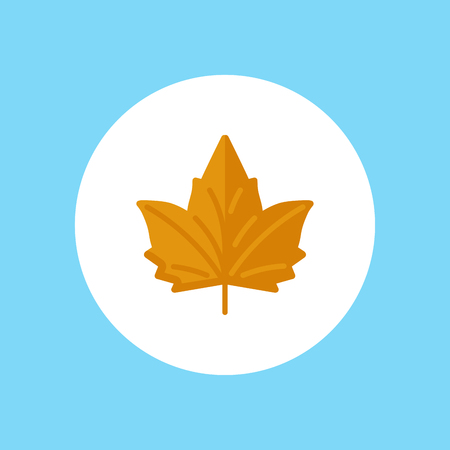 Maple Leaf icon. Element of web icon for mobile concept and web apps. Isolated Maple Leaf icon can be used for web and mobile. Premium icon on white background