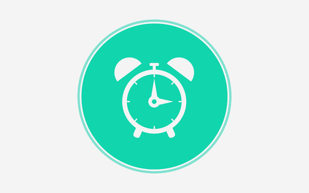 Beautiful, meticulously designed Alarm Clock Icon. Perfect for use in designing and developing websites, printed materials and presentations, Promotional Materials, Illustrations or Infographics or any type of design projects