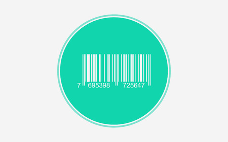Barcode icon vector, filled flat sign, solid pictogram isolated on white. Symbol, logo illustration. Pixel perfect vector graphics Çizim