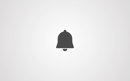 Ringing bell line icon, outline vector sign, linear style pictogram isolated on white. Notification bell symbol, logo illustration. Editable stroke