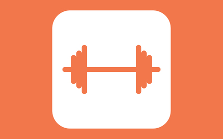 Dumbbell vector icon. filled flat sign for mobile concept and web design. Barbell simple solid icon. Symbol, logo illustration. Pixel perfect vector graphics