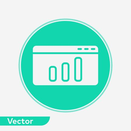 Browser icon vector, filled flat sign, solid pictogram isolated on white. Symbol, logo illustration. 写真素材 - 129388994