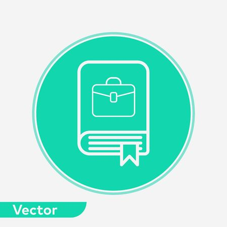 Book icon vector, filled flat sign, solid pictogram isolated on white. Symbol, logo illustration.