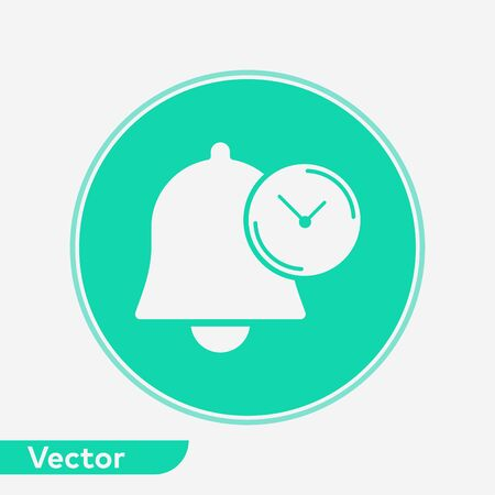 Notification icon vector, filled flat sign, solid pictogram isolated on white. Symbol, logo illustration.