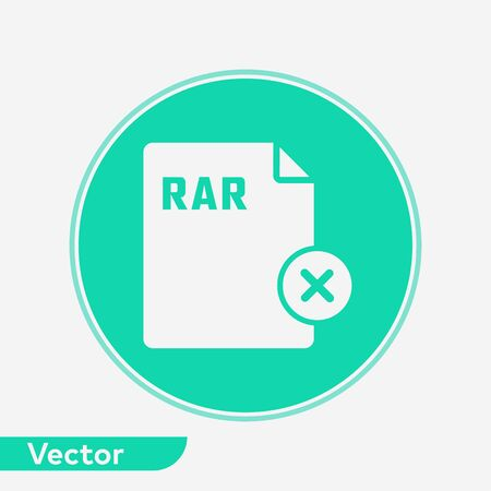 Remove file icon vector, filled flat sign, solid pictogram isolated on white. Symbol, logo illustration.  イラスト・ベクター素材