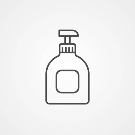 Hand cream icon vector, filled flat sign, solid pictogram isolated on white. Symbol, logo illustration.