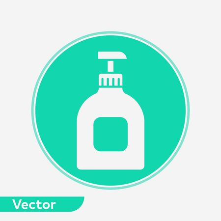 Hand cream icon vector, filled flat sign, solid pictogram isolated on white. Symbol, logo illustration. Stock Vector - 129338948