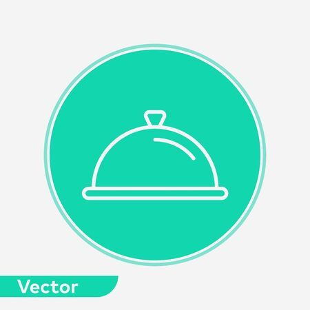 Tray icon vector, filled flat sign, solid pictogram isolated on white. Symbol, logo illustration.