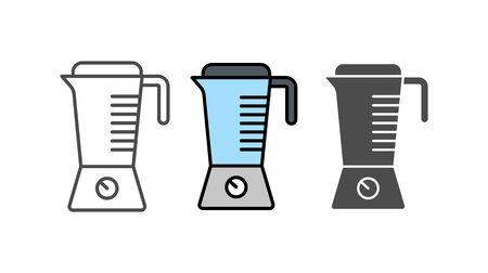 Blender icon vector, filled flat sign, solid pictogram isolated on white. Symbol, logo illustration. Çizim