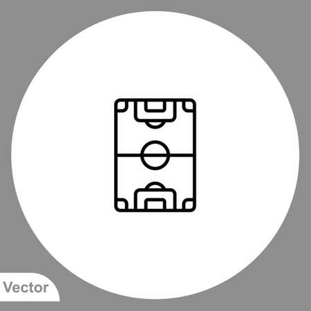 Stadium icon sign vector, Symbol, illustration for web and mobile 向量圖像