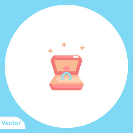 Ring vector icon sign symbol