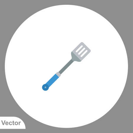 Kitchen spatula icon sign vector, Symbol, logo illustration for web and mobile