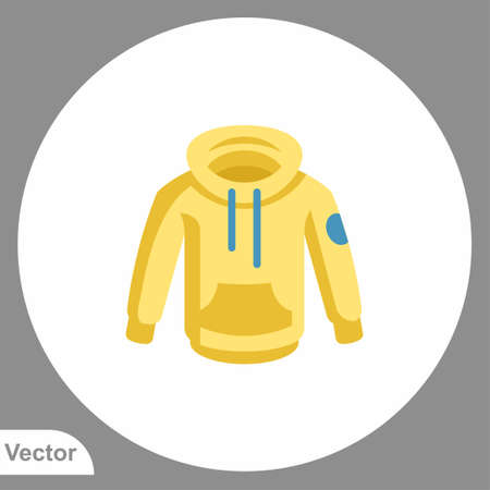 Hoodie icon sign vector, Symbol, logo illustration for web and mobile Ilustração