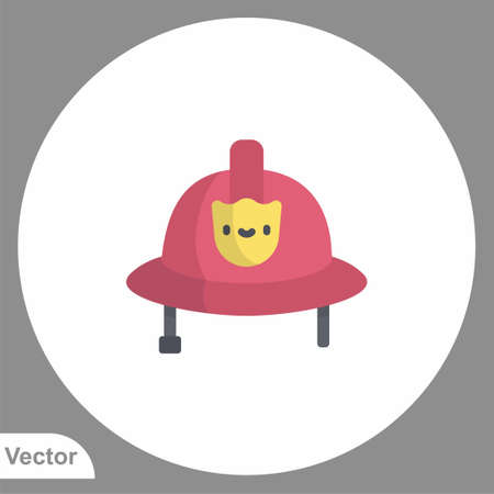Safety helmet icon sign vector, Symbol, logo illustration for web and mobile