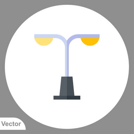 Street light icon sign vector, Symbol illustration for web and mobile