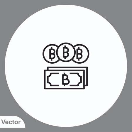 Money vector icon sign symbol