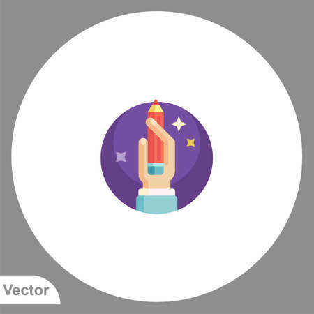 Pencil icon sign vector, Symbol illustration for web and mobile 일러스트