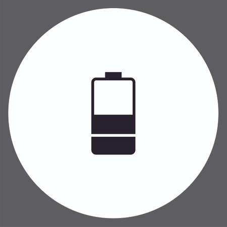 Battery vector icon sign symbol 일러스트