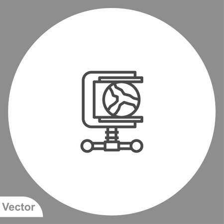 Clamp icon sign vector, Symbol illustration for web and mobile 일러스트