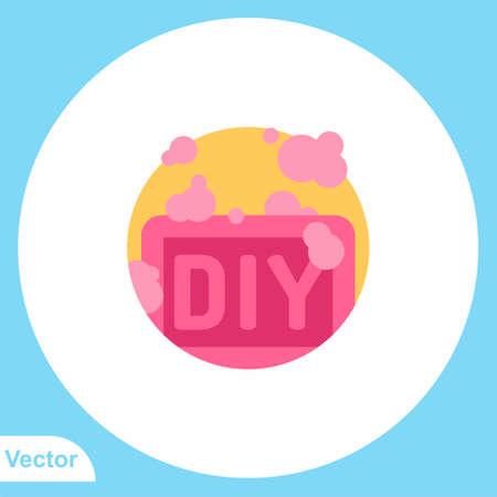 Soap flat vector icon sign symbol