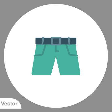 Shorts vector icon sign symbol