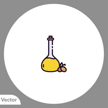 Olive oil icon sign vector, Symbol illustration for web and mobile