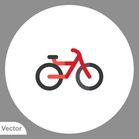 Bicycle icon sign vector, Symbol illustration for web and mobile