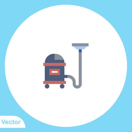 Vacuum cleaner vector icon sign symbol