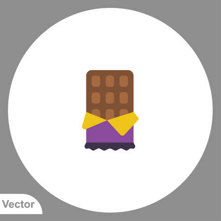 Chocolate bar icon sign vector, Symbol illustration for web and mobile