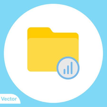 Folder vector icon sign symbol