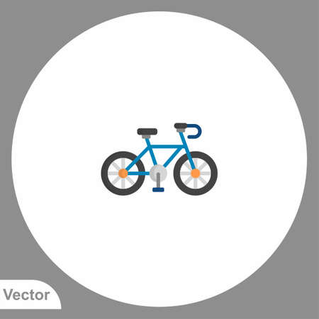 Bicycle icon sign vector, Symbol, illustration for web and mobile Ilustracja