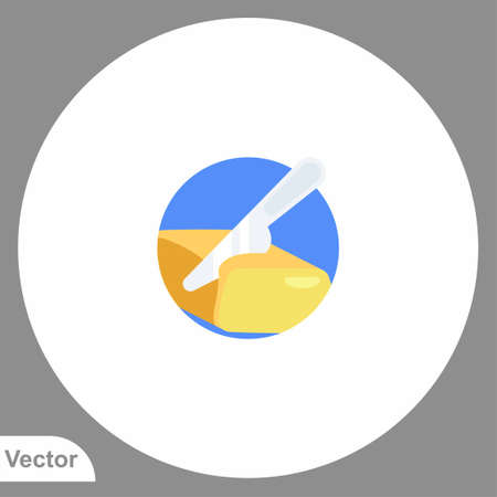 Butter icon sign vector, Symbol, illustration for web and mobile  イラスト・ベクター素材