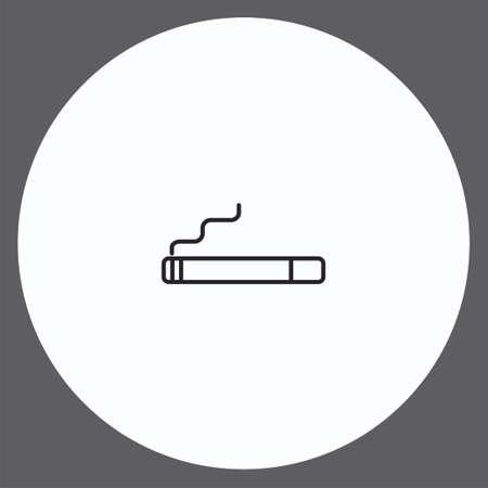 Cigarette vector icon sign symbol Vettoriali