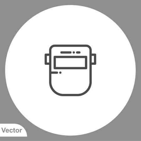 Welder icon sign vector, Symbol, illustration for web and mobile