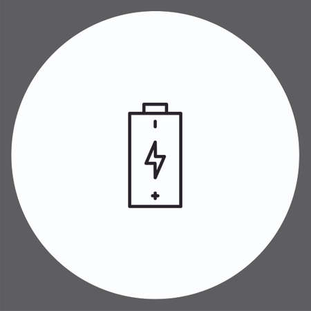 Battery vector icon sign symbol 向量圖像