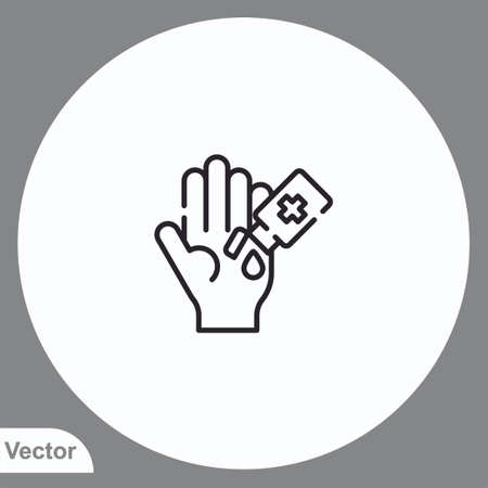 Soap vector icon sign symbol