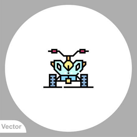 ATV icon sign vector, Symbol illustration for web and mobile 일러스트